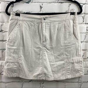 Columbia khaki skirt
